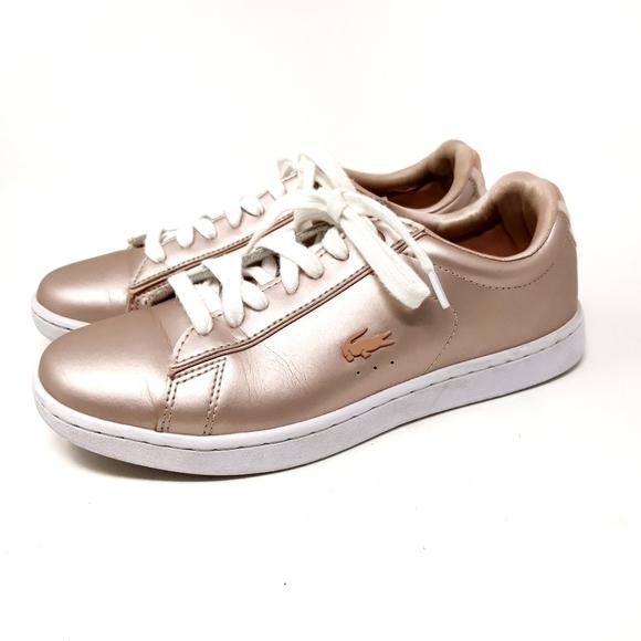 Carnaby Evo Metalic Rose Gold Sneakers
